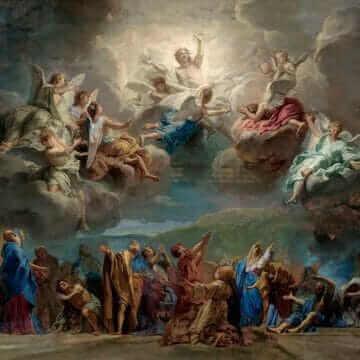 Сошествие Святого Духа на апостолов. Жан-Батист Жувене