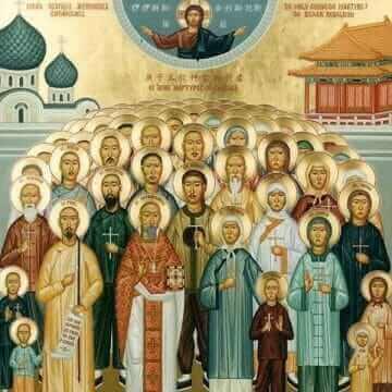 Собор китайский 222 мучеников