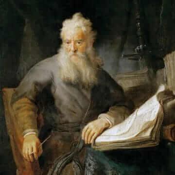 Апостол Павел. Rembrandt Harmenszoon van Rijn