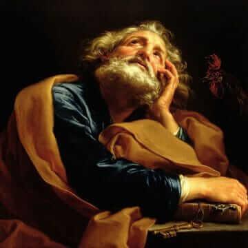 Святой Пётр. Помпео Джироламо Батони