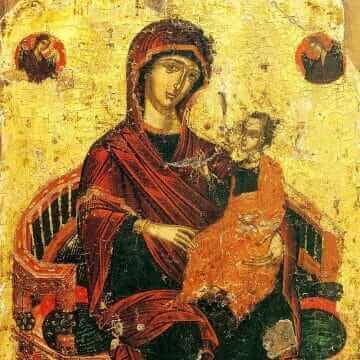Ikoną Przenajświętszej Bogurodzicy Wszechkrólowa