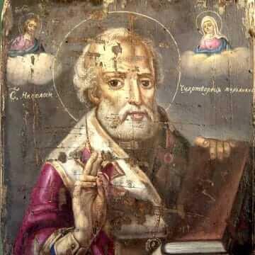 Święty Mikołaj, arcybiskupa Miry w Licji