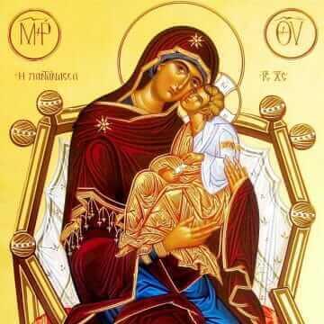 Icono de la Madre de Dios Pantanassa