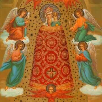 Икона Пресвятой Богородицы Прибавление ума