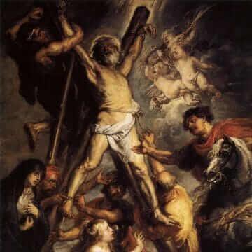 Le martyre de saint André. Peter Paul Rubens