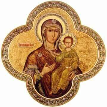 Икона Пресвятой Богородицы Одигитрия Смоленская