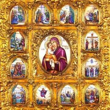 Икона Пресвятой Богородицы Почаевская
