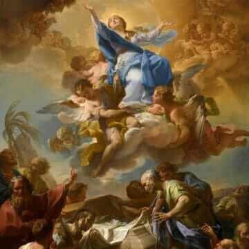 Успение Пресвятой Богородицы. Corrado Giaquinto