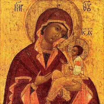 Икона Пресвятой Богородицы Грузинская