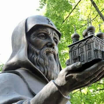 Памятник Трифону Вятскому