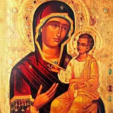 Икона Пресвятой Богородицы Иверская Монреальская