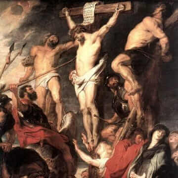 The passion of Jesus the Messiah. Peter Paul Rubens
