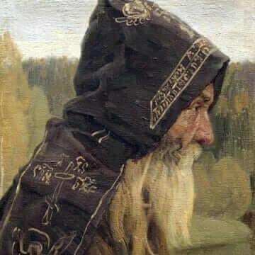 Монах. Михаил Васильевич Нестеров