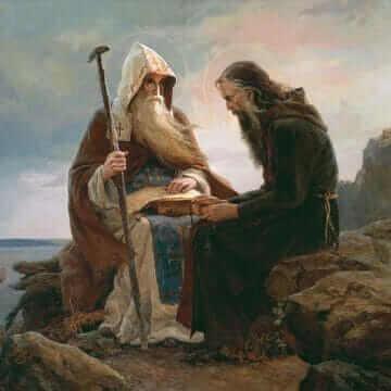 Преподобные Антоний и Феодосий Киево-Печерские. Сайда Афонина