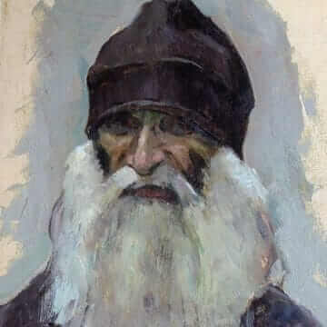 Седобородый монах. Михаил Нестеров