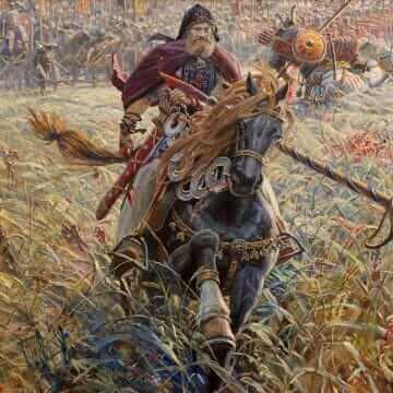 Победа Пересвета. Павел Рыженко