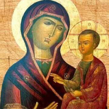 Икона Пресвятой Богородицы Одигитрия Выдропусская