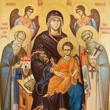 Икона Пресвятой Богородицы Экономисса