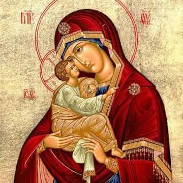 Явление Пресвятой Богородицы на Почаевской горе