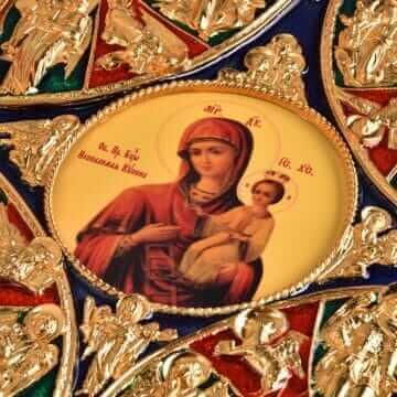 Икона Пресвятой Богородицы Неопалимая Купина