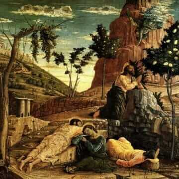 Prayer in the Garden. Andrea Mantegna
